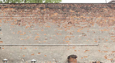 brick small modern old