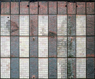 brick small wall big modern