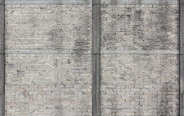 brick modern small dirty messy reinforced bare
