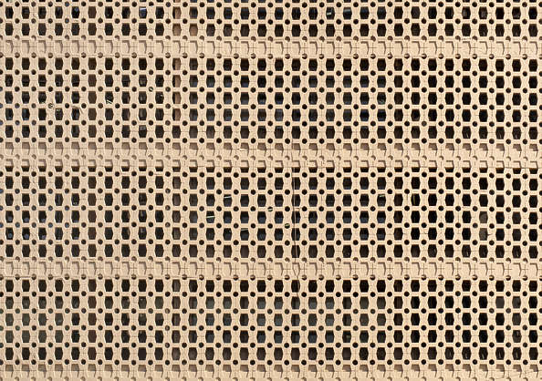 south korea bricks pattern wall