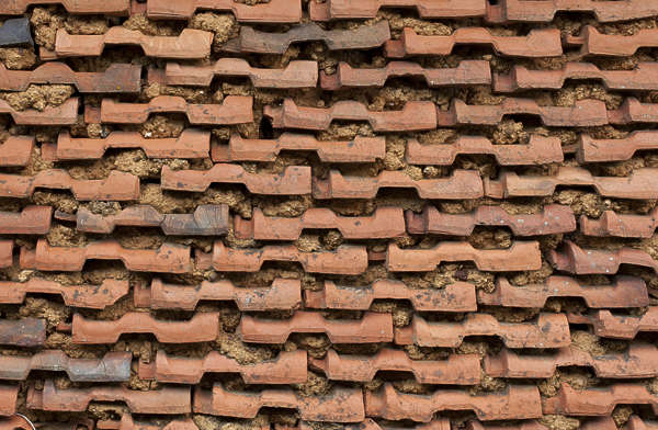 rooftiles wall ceramic