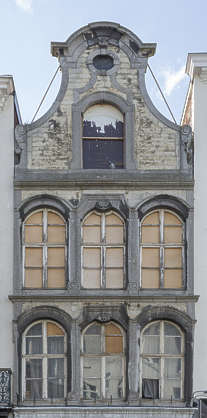 building old facade windows belgium derelict