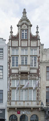 building old facade windows belgium