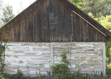 building shed barn old wooden