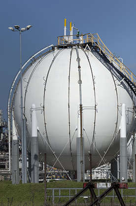 silo storage gas gasoline