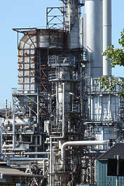 factory petro chemical plant