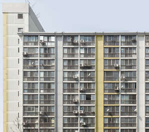 china building facade highrise residential flat flats appartments appartment towerblock