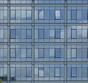 building facade office glass
