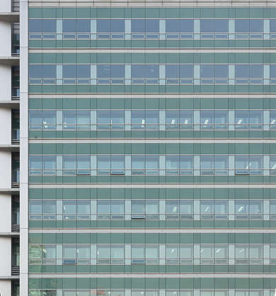 china building facade highrise glass modern