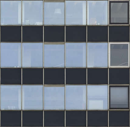 building highrise facade office window windows