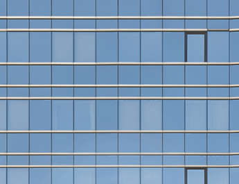 facade building highrise high rise office tower flat window windows skyscraper glass