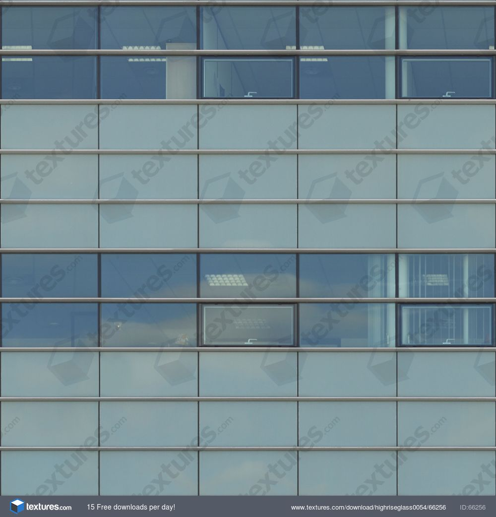 Glass facade texture  HighRiseGlass0054 - Free Background Texture - facade building ...