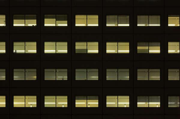 building facade highrise night high rise
