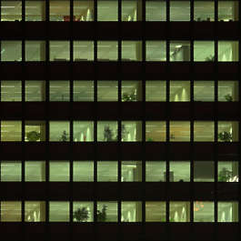 building facade high rise night dark window windows skyscraper