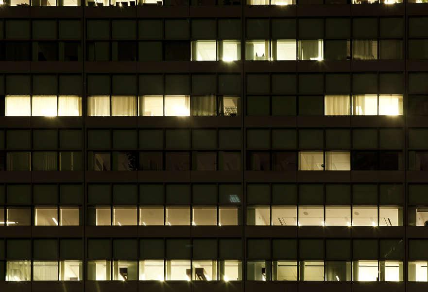 Black Windows Exterior