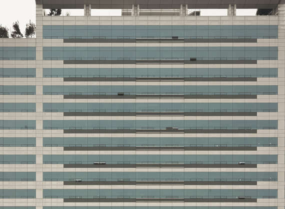 china building facade highrise modern office