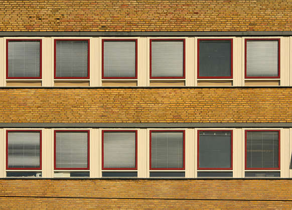 building facade high rise highrise window windows