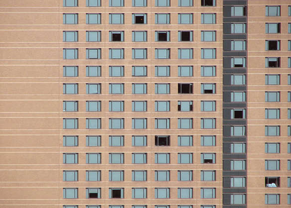 buildings facade building highrise appartment flat