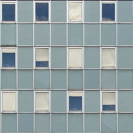 building facade modern windows highrise