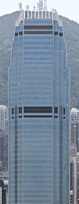 building facade highrise skyscraper hong kong Two International Financial Centre