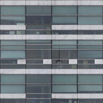 building highrise facade glass