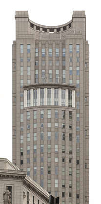 new york ny united states usa building facade offices highrise