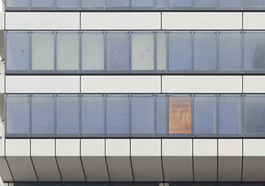 building highrise facade office