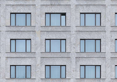 building facade marble highrise office