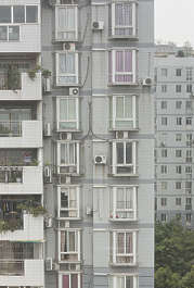 china asian asia building residential apartment apartments