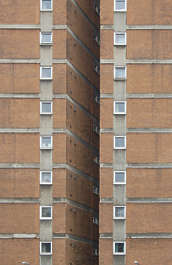 building facade highrise flat appartments high rise