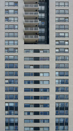 building facade highrise high rise window windows appartments appartment