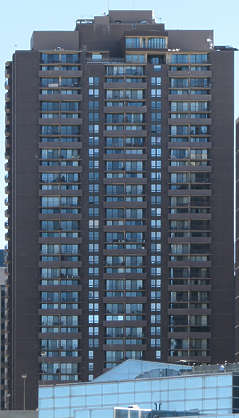 buildings facade building highrise window windows appartments