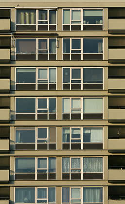 building facade highrise high rise appartments flat