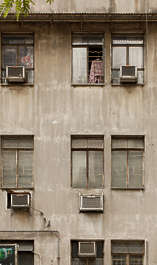 building hong kong facade residential appartments appartment house windows window