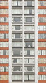 building highrise high rise hong kong facade residential flat flats appartments appartment