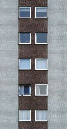 window windows facade building highrise