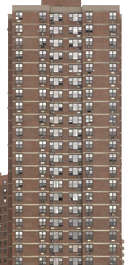 new york ny united states usa building facade residential highrise projects