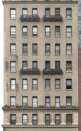 new york ny united states usa building facade residential highrise