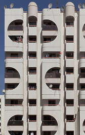 saudi arabia dubai middle east building facade tall residential apartments