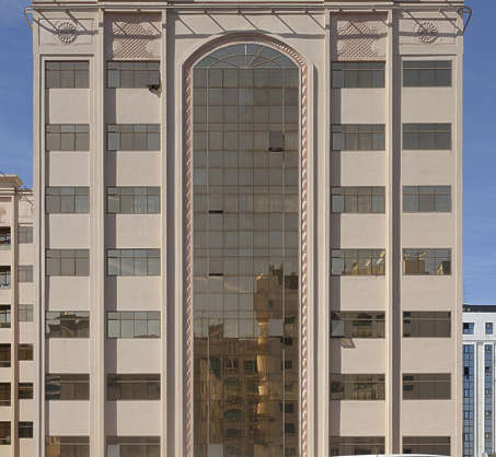 saudi arabia dubai middle east building facade tall