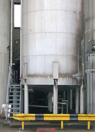 silo building industrial