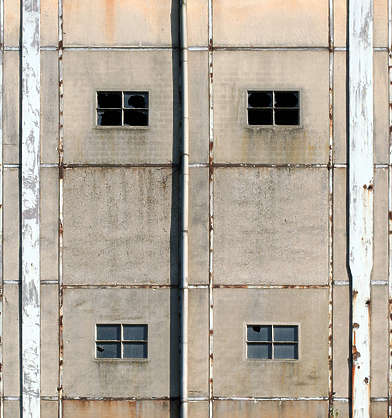 window windows industrial facade building