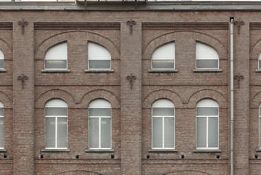 window windows facade industrial