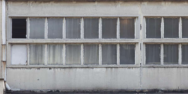 building facade window windows industrial