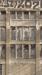 new york ny united states usa building facade industrial
