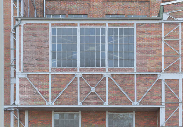 building industrial facade