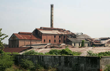 factory background building india