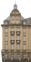 building old facade windows belgium ornate neo classical stairs entrance