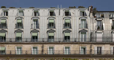 building facade roof paris france neoclassical historical