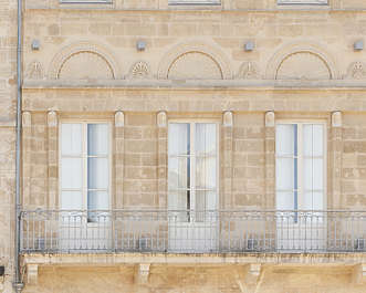 building historical facade france windows neoclassical